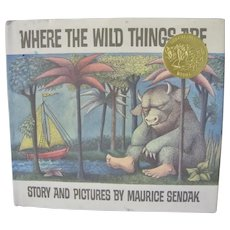 Where the Wild Things Are story and pictures by Maurice Sendak 25th Anniversary issue