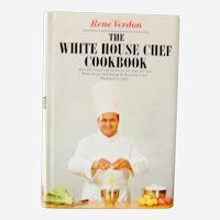 The White House Chef Cookbook 1st edition Signed