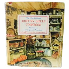 The New England Butt'ry Shelf Cookbook Campbell and Tasha Tudor