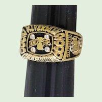 ECHL 2000 Kelly Cup Championship Ring Replica
