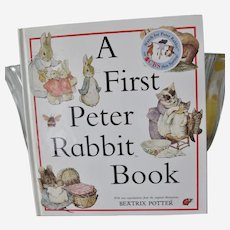A First Peter Rabbit Book first edition, printed Great Britain
