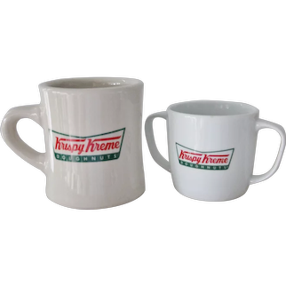 Krispy Kreme Doughnuts Cup & Mug Restaurant Ware