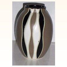 Geometric Modern Ceramic Vase Art Pottery