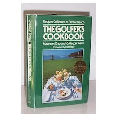 Autographed Celebrity Golfer's Cook Book 1st Edition Foreword Bob Hope!