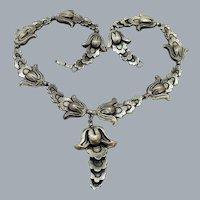 Vintage Marcel Boucher Parisina Mexico Sterling Silver Necklace 61g