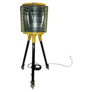 Vintage Org MILITARY WWII Portable Tripod Lamp Light American Gas Accumulator