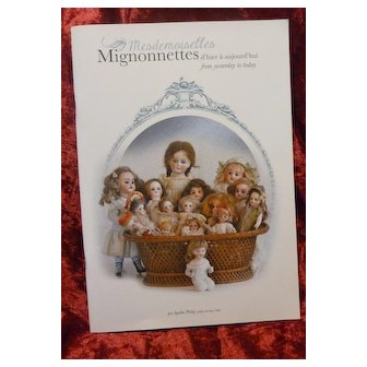 "Bilingual book ""Mesdemoiselles Mignonnettes from yesterday to today"" by Agathe Philip"