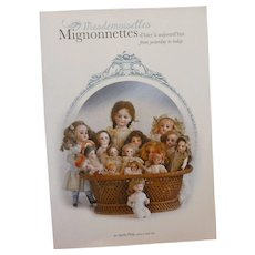 """Bilingual book """"Mesdemoiselles Mignonnettes from yesterday to today"""" by Agathe Philip"""