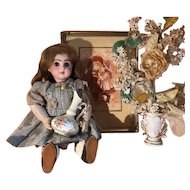 French vintage small porcelain pitcher doll size!