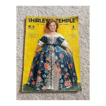 """Vintage French magazine """"Shirley Temple sa vie ses films""""  Visages du Cinéma collection 1936"""