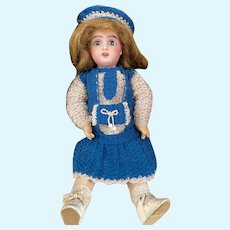 Cute 3-Piece French woolen Dress for your Bleuette Doll