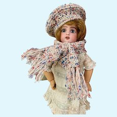 Very cute 3-Piece French woolen set for your Bleuette Doll!