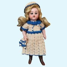 Very lovely 3-Piece French Dress for All Bisque Doll size 3