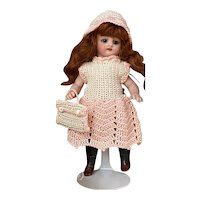 Very lovely 3-Piece French Dress for All Bisque Doll size 1