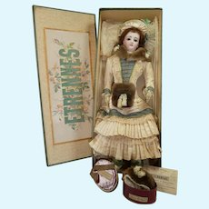 Endearing French FG fashion doll in size 5