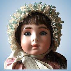 Lovely antique French doll bonnet