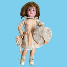 3-Piece French Crochet Dress for Bleuette doll