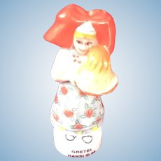 "Cute French porcelain Alsace "" Gretel"" Hansi figure"