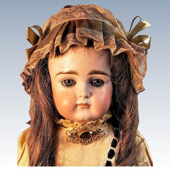 15 inch Kestner closed mouth early child doll