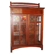 BOB TIMBERLAKE Lexington Mission arts crafts collection china cabinet & drawer