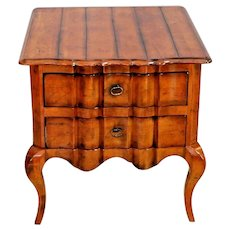 CENTURY FURNITURE French Country style Occasional Table End Table two drawers