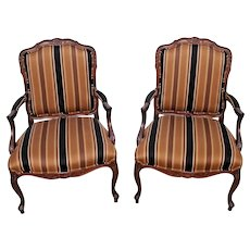 Henredon Fine Furniture French country Accent chair Set of Two