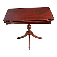 Vintage flip top Game, Kitchen, wall pedestal Table