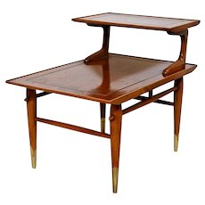 Mid Century Danish Modern Side Step Table Lane Alta Vista No. 652290
