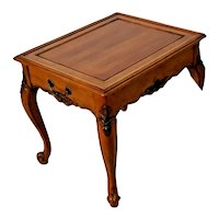 Vintage Nightstand Spencer Furniture French country Drawer Occasional Lamp Table