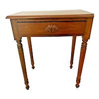 Antique Library Table writing desk hand made