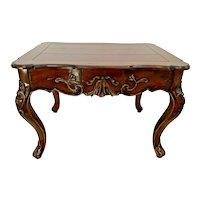 Hekman Furniture Table Rectangle French Country Dark Walnut Finish