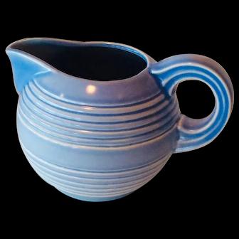 Vintage Stangl Light Blue Pitcher