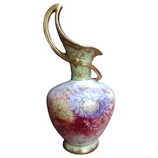 Antique Royal Bonn Porcelain Art Nouveau One-handled Vase
