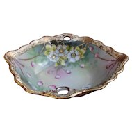 Antique Japanese hand-painted Porcelain IE&C Co Trinket Dish
