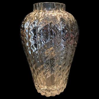 Tiffany & Co leaded vase