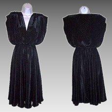 Size 8 Dress Black Cocktail by Caleche Boutiques