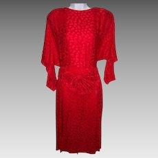 Women's Size 10 Dress Red Mermaid by St. Gillian