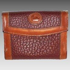Dooney & Bourke Bi-Fold Wallet Rose AWL