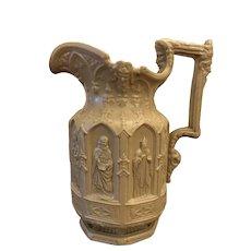 Apostles Stoneware Jug - Charles Meigh c. 1845