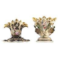 19th Century Jardiniere / Vase & a 19th c Historism Paris Vase - Paris Porcelain