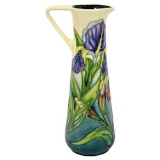 Moorcroft Iris Jug Collectors Club by Rachel Bishop