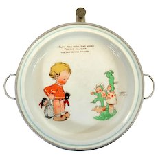 Mabel Lucie Attwell for Shelley, A Fairy Folk Warming Dish - English