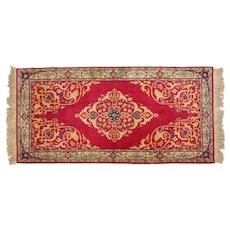 Beautiful Persian Runner Rug - Deep Rose Color