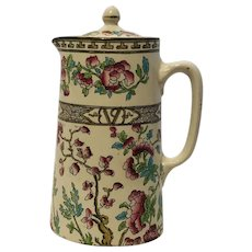 """Bridgwood """"Indian Tree"""" Made in England Teapot w/lid"""