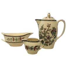 3 Piece Indian Tree Pattern - Made in England