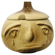 Sylvac Onion Pot with Lid - Made in England