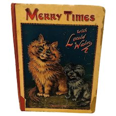 Merry Times with Louis Wain Book