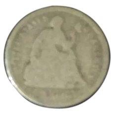 1860 American Half-Dime