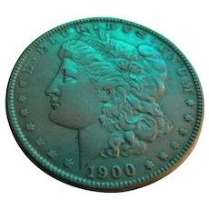 1900-P Morgan Silver Dollar Coin