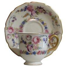 Vintage Rosenthal Demitasse Cup and Saucer